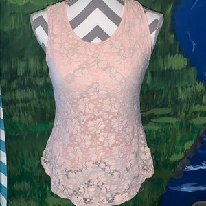 Cable and gauge dressy blouse tank top size medium